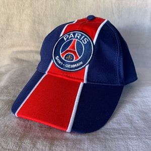 Paris Saint-Germain FC Soccer Adjustable Hat